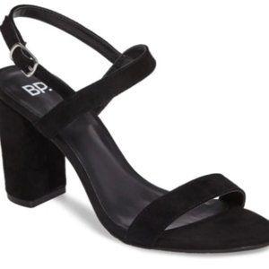 Comfortable Velvet Black BP heels Size 8